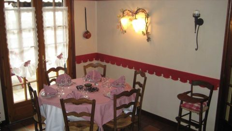La Rencluse restaurant Saint-Mamet