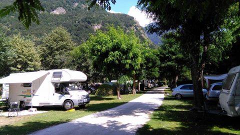 Camping au fil de l'oô Luchon