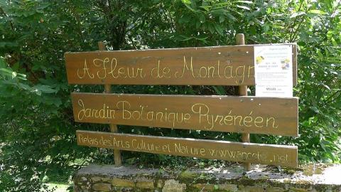Jardin botanique de Melles