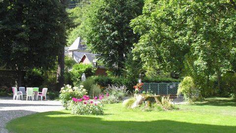 Hôtel castel pique parc Luchon