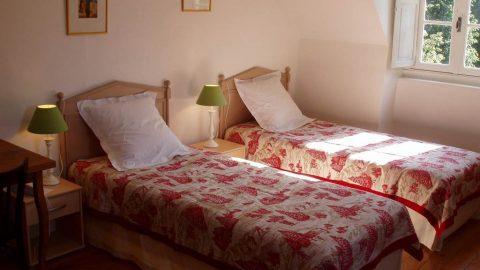castel pique hôtel Luchon chambre