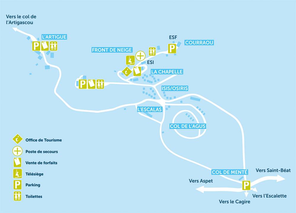 Plan mourtis station